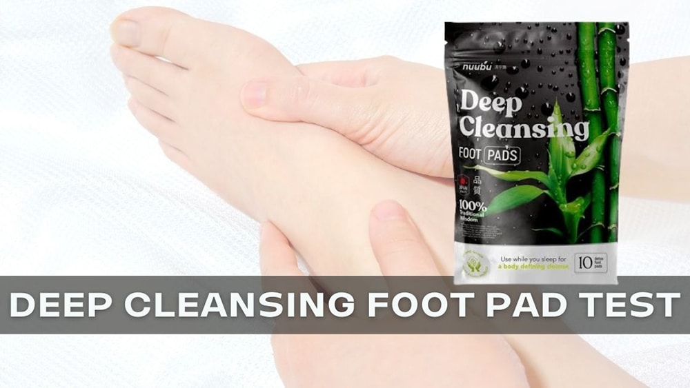 DEEP CLEANSING FOOT PAD TEST